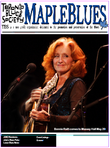 March 2012 - Bonnie Raitt