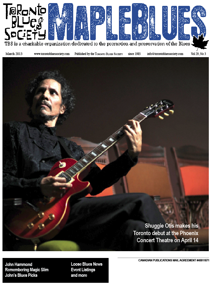 March 2013 - Shuggie Otis