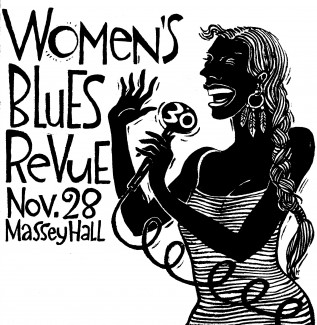 29th Women's Blues Revue Artwork Scan - Barbara Klunder