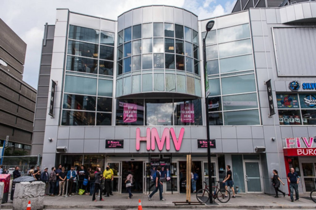 HMV-Toronto