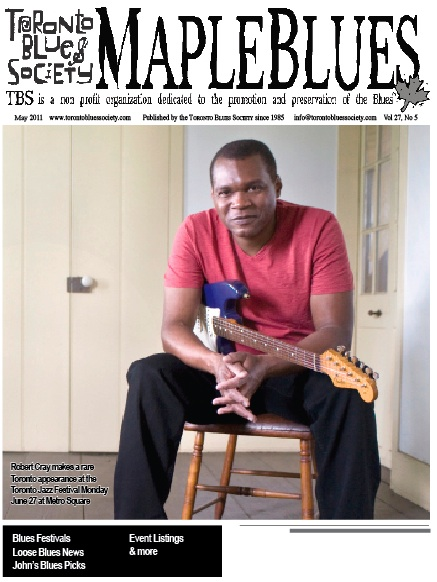 May 2011 - Robert Cray