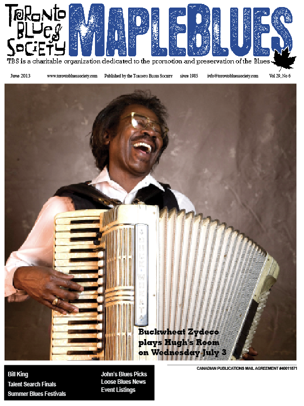 June 2013 - Buckwheat Zydeco