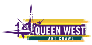 queen west art crawl logo