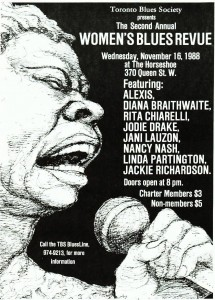 1988 - 2nd Annual Women's Blues Revue - Enhanced