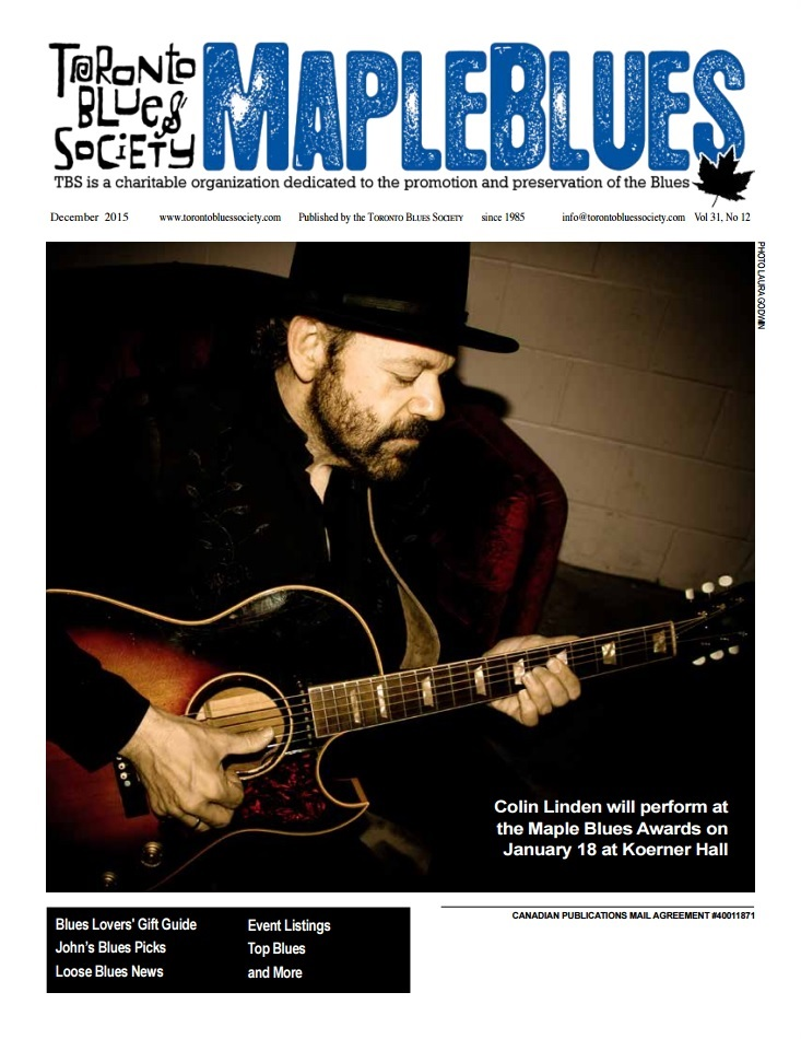 December 2015 - Colin Linden