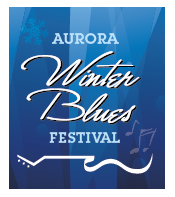 aurora winter blues festival logo