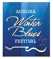 aurora winter blues festival logo