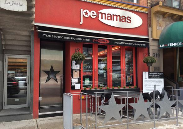Toronto's Joe Mamas